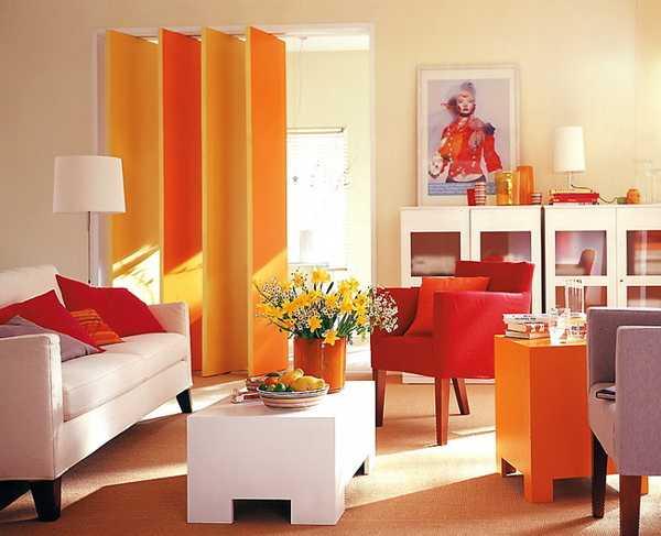 Желто оранжевый дизайн